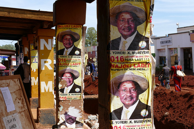 Will Museveni win again? Credit: Maxence Peniguet.