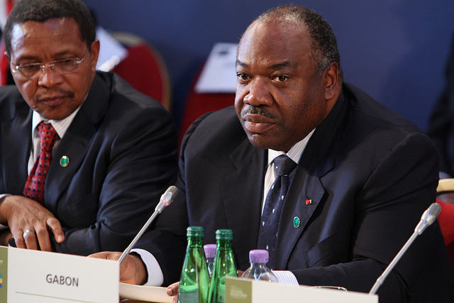 Can President Ali Bongo Ondimba hold onto power? Credit: UK FCO.