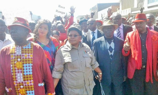 Morgan Tsvangirai and Joice Mujuru join hands in a bid to win the 2018 elections in Zimbabwe.