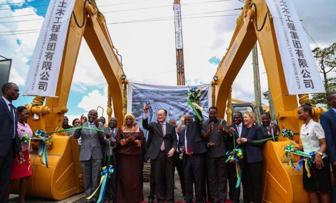 President John Magufuli with World Bank president Jim Kim. Credit: Sarah Farhat/World Bank.