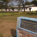 Plaque Commemorating Kicukiro Technical Training Center, Formerly the Ecole Technique Officielle (ETO), Kicukiro. Credit: Adam Jones.
