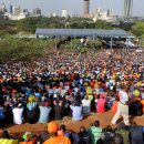 Kenya election rally. Credit: Commonwealth Secretariat.