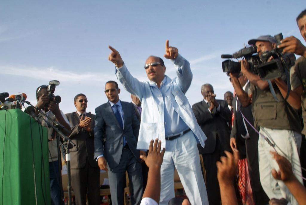 President Mohamed Ould Abdel Aziz. Credit: Magharebia.