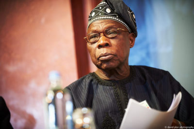 Nigeria's former president, Olusegun Obasanjo continues to wield significant influence in Nigeria. Credit: Friends of Europe.