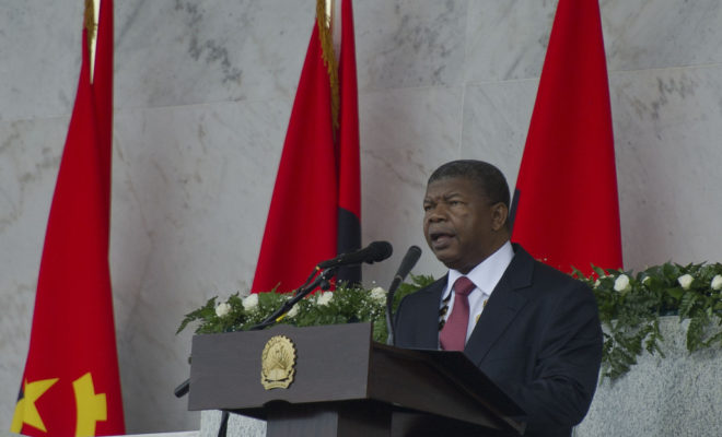 João Lourenço became president in September 2017. Credit: GCIS.