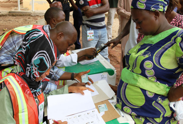 Voting in Nigeria's previous elections. Credit: US Embassy Nigeria/Idika Onyukwu.