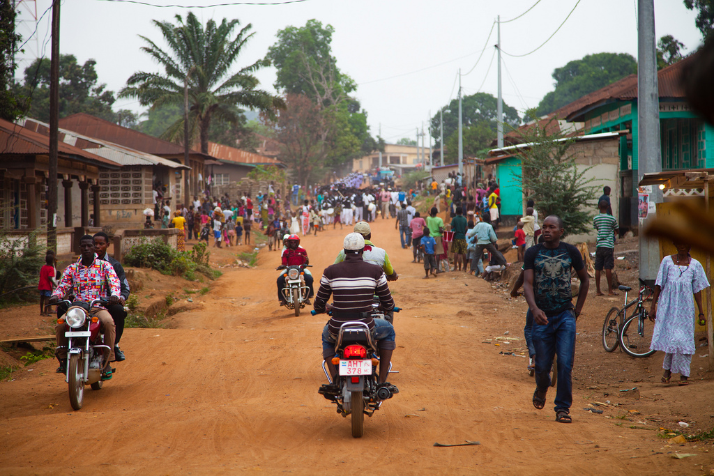 In Sierra Leone's 2018 elections, opposition leader Julius Maada Bio won a narrow victory. Credit: Direct Relief.