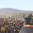 Zimbabwe's President Mnangagwa on a campaign rally ahead of the 2018 elections. Credit: EDM.