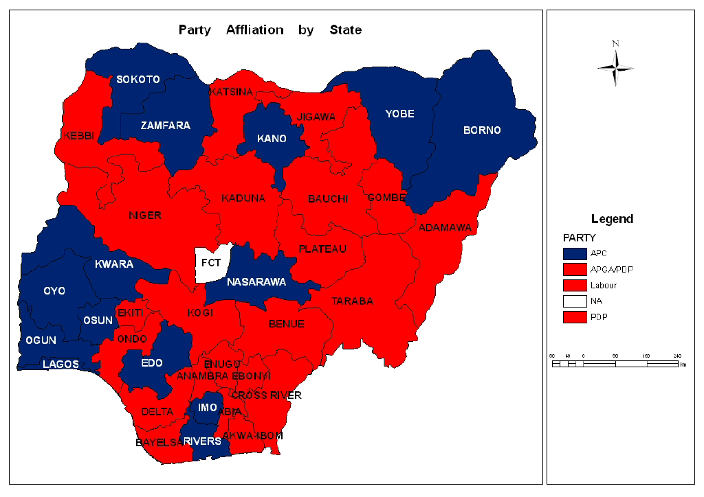 Incumbency And Opportunity Forecasting Nigerias 2015 Elections - Us-electoral-map-prediction