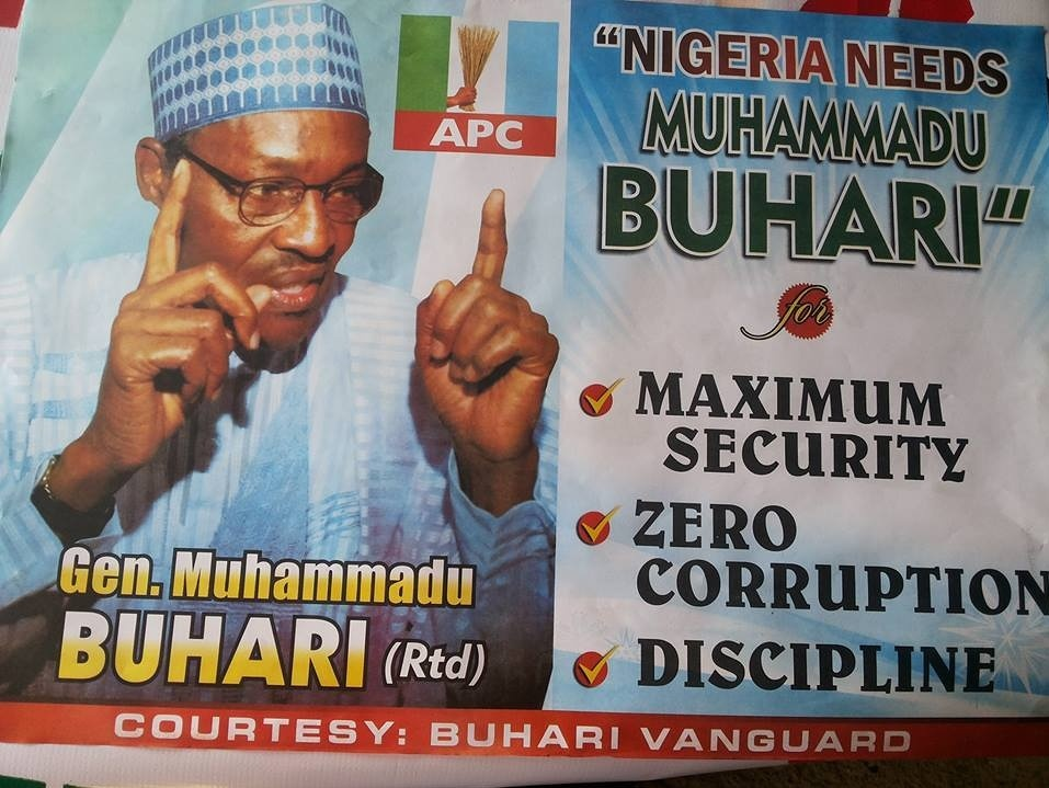 Cometh the Hour, Cometh   Buhari? Nigerian election campaign hits
