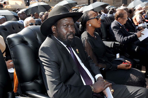 President Salva Kiir could face sanctions if he fails to sign IGAD's peace deal. Photograph by GovernmentZA.