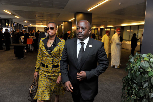 Is President Joseph Kabila on his way out? Photograph by GCIS.