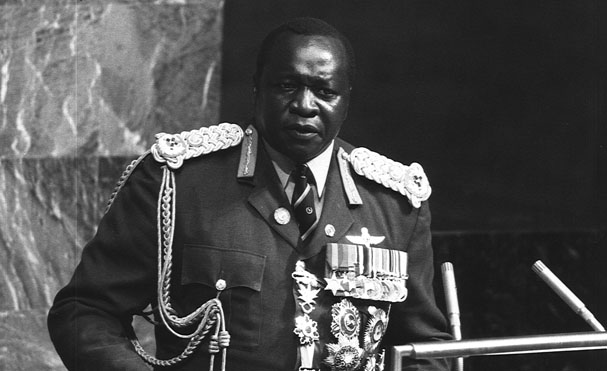 Idi Amin at the UN in 1975. Photograph by UN/T. Chen.