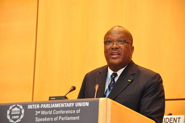 President-elect Roch Marc Christian Kaboré is Burkina Faso's first civilian president in half a century. Photograph by Third World Conference.