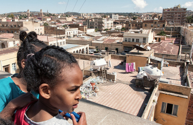Overlooking Asmara, capital of Eritrea. Credit: Andrea Moroni.