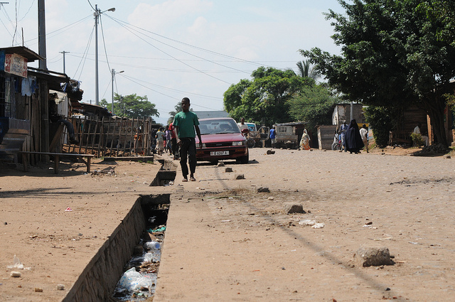 On the streets of Bujumbura, capital of Burundi. Credit: SuSanA Secretariat.