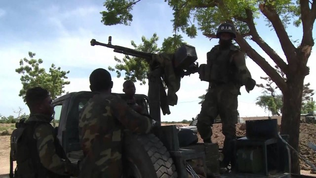 Military regroup after a Boko Haram attack in Cameroon.