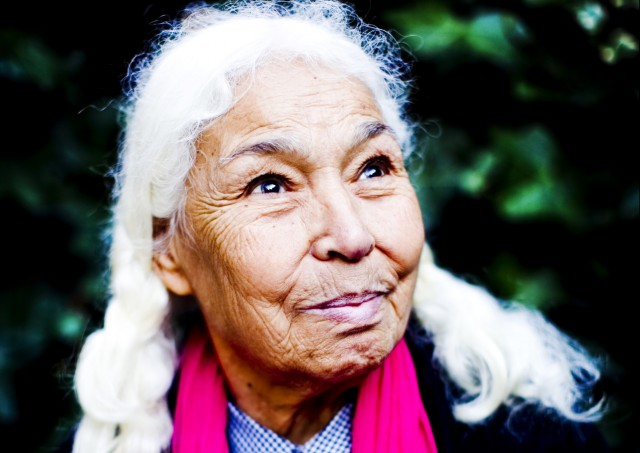 Nawal El Saadawi. Credit: Felix Clay. Photograph by Felix Clay.