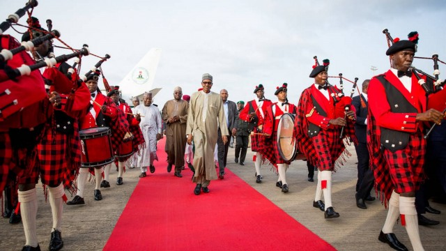 Has Buhari's image as an ascetic, no-nonsense figure been broken? Credit: SaharaReporters.