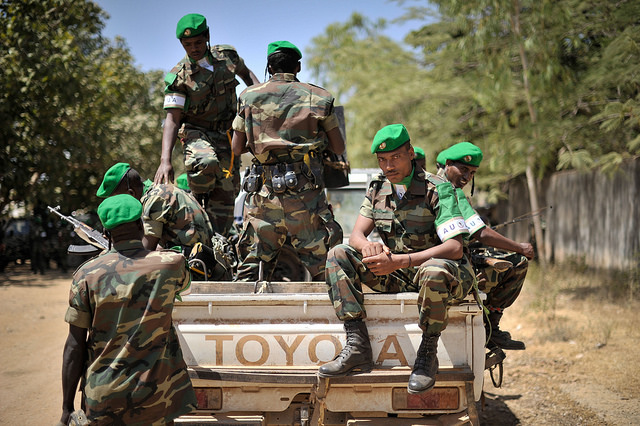 Until recently, Ethiopia contributed 4,400 troops to AMISOM's 22,000 in Somalia. Credit: AU UN/Tobin Jones.