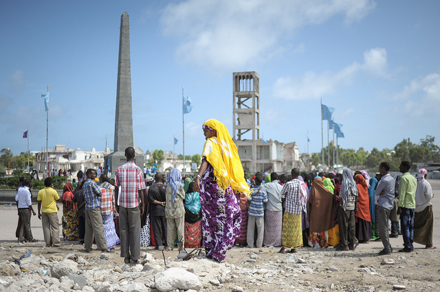 Eid celebrations in Mogadishu, Somalia. Credit: AU UN IST PHOTO / TOBIN JONES.