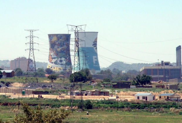 Coal plant South Africa