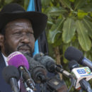 President Salva Kiir of South Sudan.