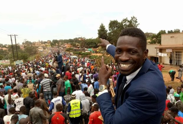 Robert Kyagulanyi Sentamu aka Bobi Wine on the campaign trail. Credit: Bobi Wine.