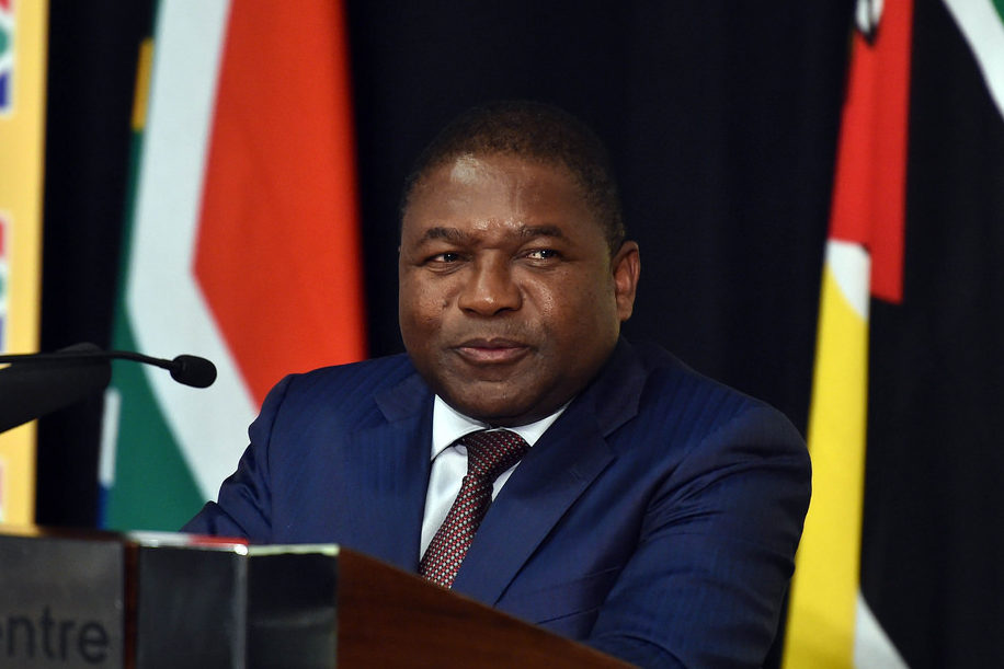Mozambique's President Filipe Nyusi is alleged to have been personally involved in the dubious loans. Credit: GCIS.