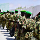 Burundian troops arrive in Mogadishu to serve under the African Union Mission in Somalia (AMISOM). Credit: AMISOM Photo / Ilyas Ahmed.