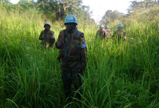 UN peacekeepers in Tanganyika, one of the regions that has seen escalating conflict. Credit: MONUSCO.