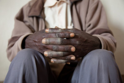 Juvenal Moudenge, a survivor of the Rwandan genocide. Credit: Trocaire.
