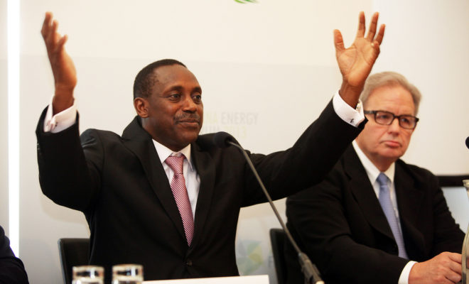 The National Grand Coalition, led by Kandeh Yumkella (pictured), is one of Sierra Leone's new parties challenging in the upcoming elections. Credit: UNIDO/ Gerhard Fally.