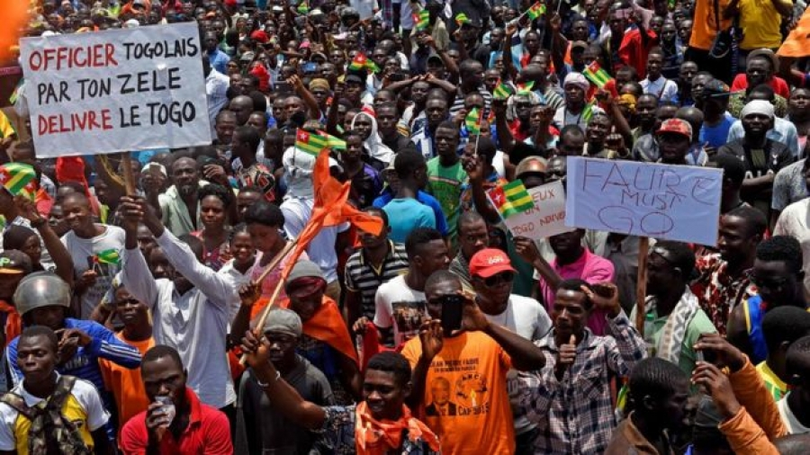 Protesters in Togo have been taking the streets in almost weekly marches since August 2017.