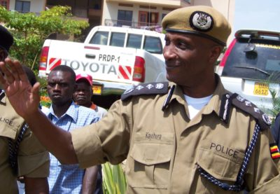 Kale Kayihura had been Inspector General of Police since 2005 before he was dismissed earlier this month.
