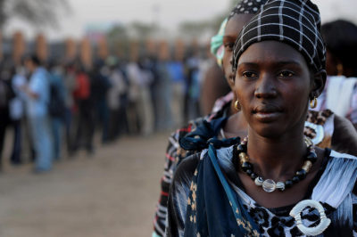 South Sudan voted to become independent in 2011, but peace did not last long. Credit: UN Photo/Tim McKulka.