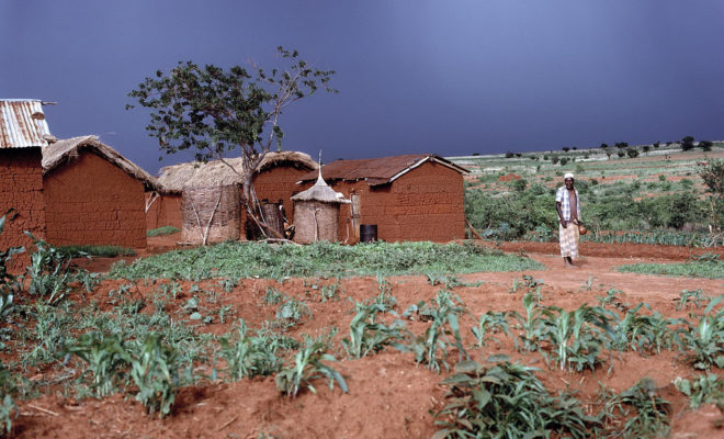 Rain clouds over a farming village near Iringa, Tanzania. Credit: UN Photo/Wolff
