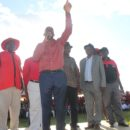 Nelson Chamisa, the new president of the MDC Alliance, at a recent rally. Credit: MDC Zimbabwe.