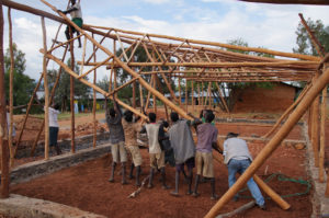 Fixing a school in Ethiopia's SNNPR region. Credit: Axel Steinhagen.