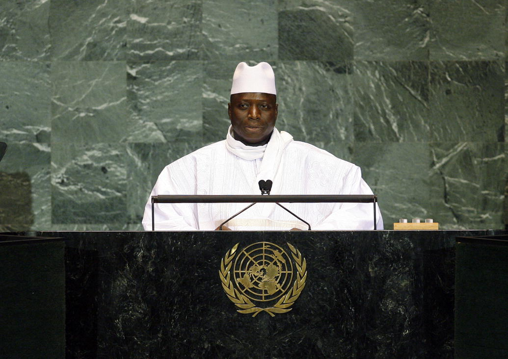 The Gambia's former president Yahya Jammeh. Credit: UN Photo/Erin Siegal.