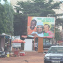 A Mali election billboard for the incumbent President IBK.