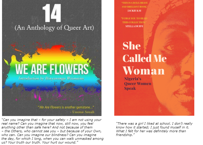 Nigeria's new generation of queer writing.