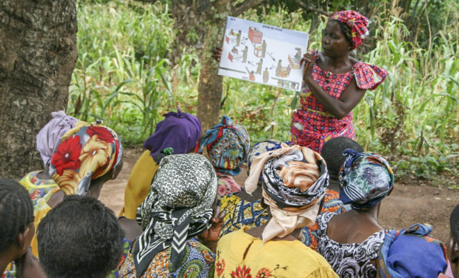 After a two-year delay, the DRC votes in elections on 23 December. Credit: USAID/A. Luyoyo.