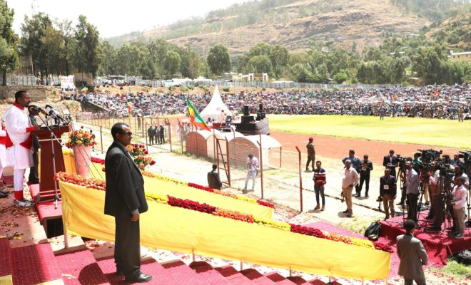 Can Ethiopia's Prime Minister Abiy Ahmed address rising ethnic violence? Credit: Abiy Ahmed.