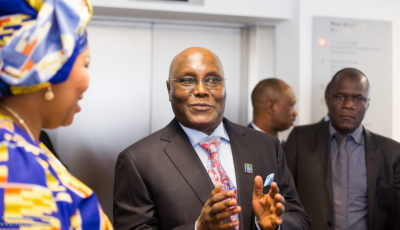 Can former Vice-President Atiku Abubakar beat President Muhammadu Buhari in the 2019 elections? Credit: LSE Africa Summit.
