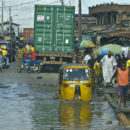 Nigeria floods: An estimated two hundred people have died and 600,000 have been displaced due to floods in Nigeria this year. Credit: Bart Fouche.