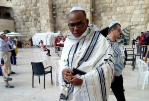 Nnamdi Kanu was missing for over a year but has resurfaced in Israel. Credit: Elliot Ugochukwu-Ukoh.