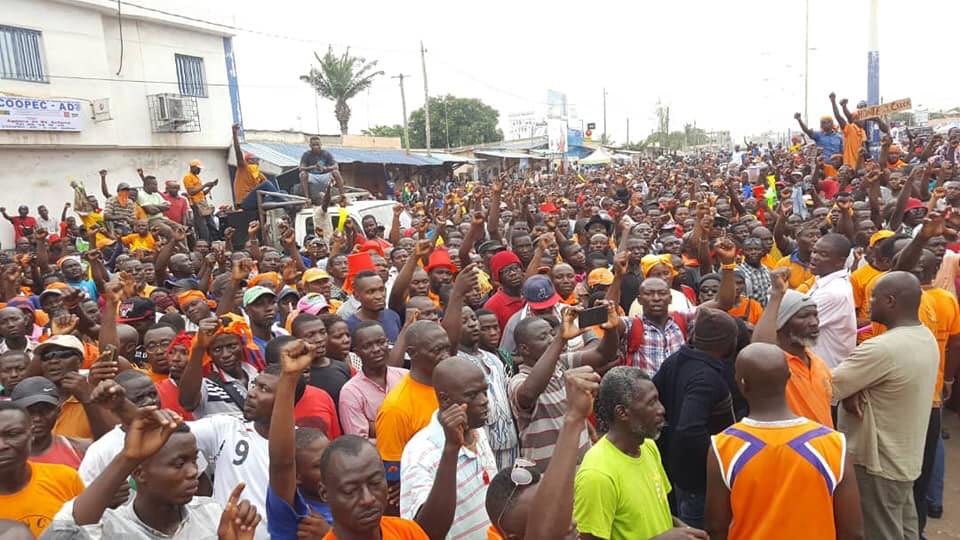 The political crisis in Togo has been ongoing for over year in which anger with President Faure Gnassingbé's government has grown. Credit: Faure Must Go.
