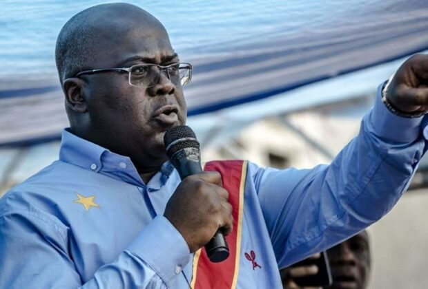 DRC election results: Opposition candidate Felix Tshisekedi was announced the surprise winner of the DRC's presidential election. Credit: UDPS.