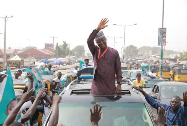 Presidential candidate Omoyele Sowore on the campaign trail. Credit: Sowore campaign.